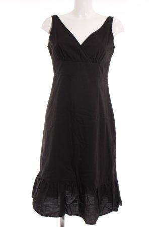 Esprit Vestido línea A negro look casual