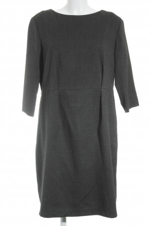 Esprit A-Linien Kleid schwarz-dunkelgrau meliert Business-Look