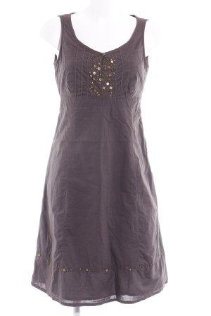 Esprit A-Linien Kleid taupe schlichter Stil