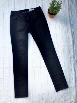Esprit Slim Jeans dark blue-black cotton