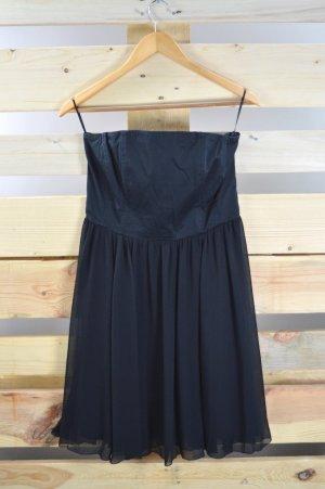 Esprit Abendkleid Bandeau schwarz Größe 38