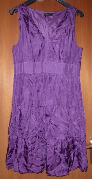 Esprit Abendkleid Coctailkleid ABI Lavender Flieder Lila Seide 42 w. Neu