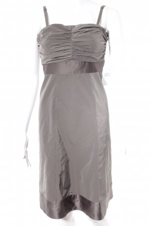 Esprit Abendkleid grauviolett Metallic-Optik
