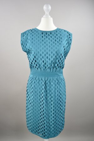 Esprit Abendkleid mit Unterkleid türkis Größe 34