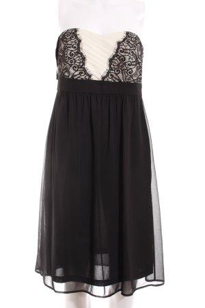 Esprit Abendkleid schwarz-creme Elegant