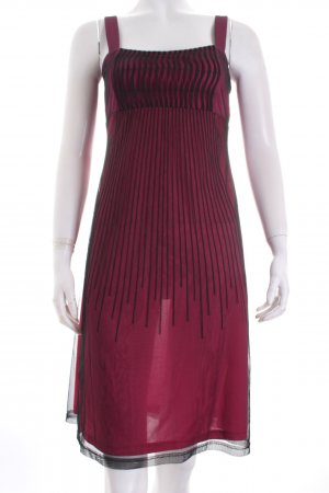 Esprit Abendkleid schwarz-purpur Party-Look