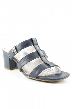 Esprit Heel Pantolettes dark blue casual look
