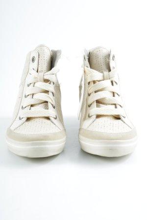 Esprit Absatz Sneaker creme-hellbeige Casual-Look