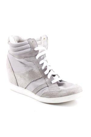 Esprit Absatz Sneaker grau Casual-Look