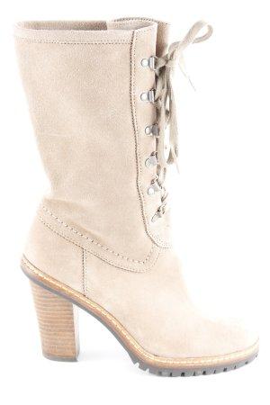 Esprit Absatz Stiefel beige Casual-Look