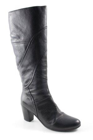 Esprit Absatz Stiefel schwarz Elegant