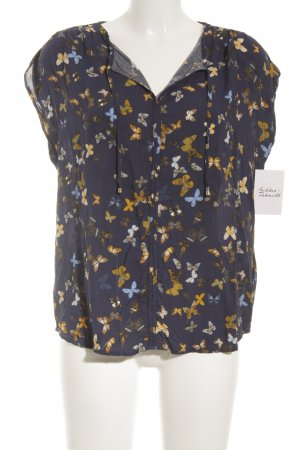 Esprit ärmellose Bluse Animalmuster Business-Look