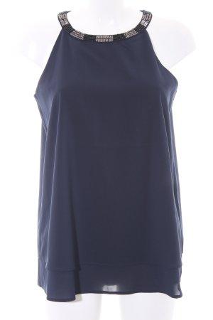 Esprit ärmellose Bluse dunkelblau Elegant