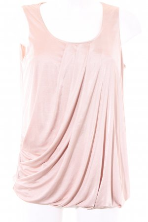 Esprit ärmellose Bluse nude Elegant