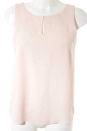 Esprit ärmellose Bluse rosé Elegant
