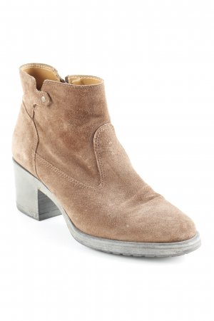 Esprit Ankle Boots braun Casual-Look