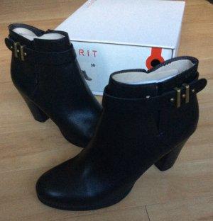 ESPRIT Ankle Boots / Stiefeletten in Schwarz