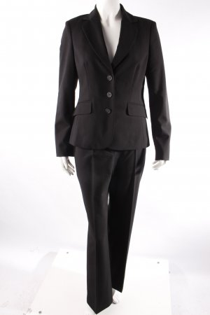 Esprit Anzug dreiteilig schwarz