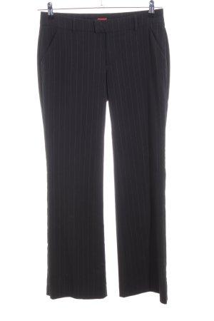 Esprit Suit Trouser black striped pattern business style