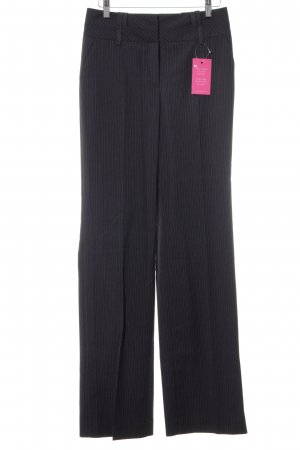Esprit Suit Trouser anthracite-light grey pinstripe casual look