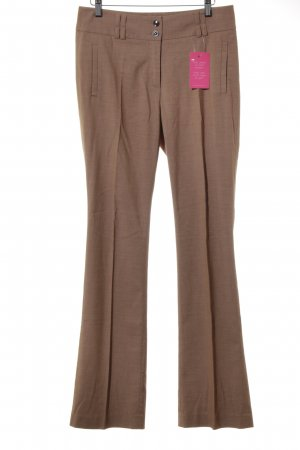 Esprit Suit Trouser bronze-colored-light brown flecked casual look