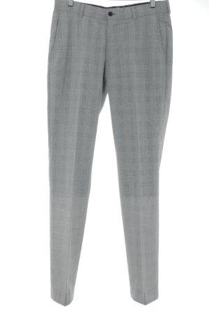 Esprit Pantalon de costume gris clair-noir motif pied-de-poule