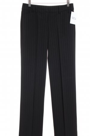 Esprit Suit Trouser black striped pattern business style