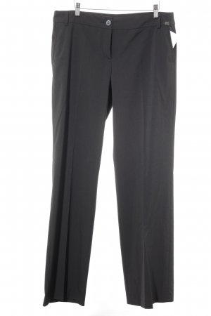 Esprit Suit Trouser black-natural white flecked Logo application (metal)