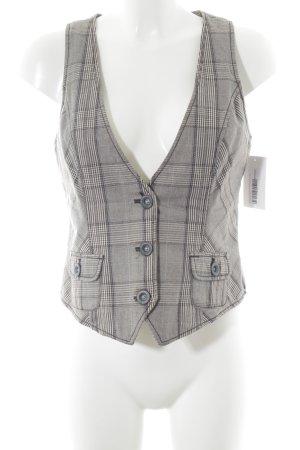 Esprit Waistcoat glen check pattern boyfriend style