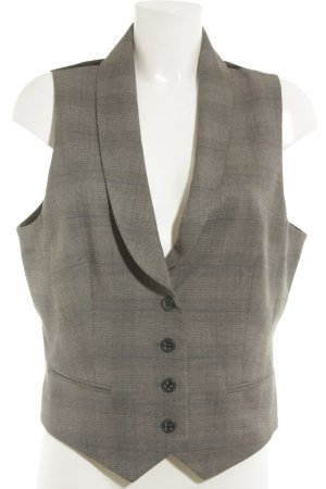 Esprit Waistcoat houndstooth pattern business style