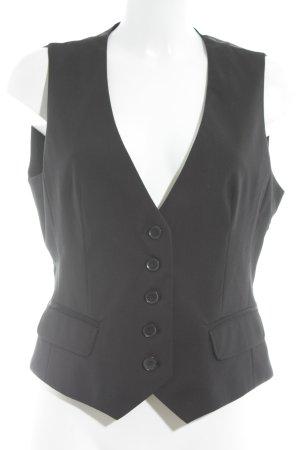 Esprit Gilet de costume noir élégant