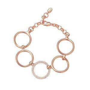 ESPRIT Armband *NEU* Edelstahl Roségold und Zirkonia, Orginalpreis 109€