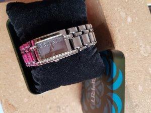 Esprit Reloj con pulsera metálica negro-color plata