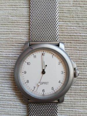 Esprit Armbanduhr mit Metallband in silber