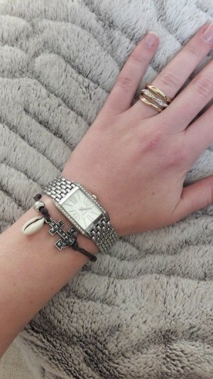 Esprit Armbanduhr Uhr watch silber