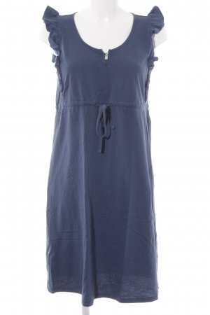 Esprit Babydollkleid blau Casual-Look