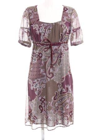 Esprit Vestido babydoll estampado con diseño de cachemira look casual