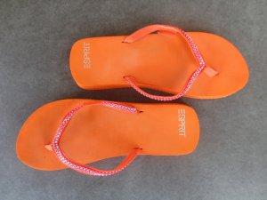 Esprit Badesandalen Flip Flops Orange SIZE38