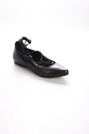 Esprit Ballerinas mit Spitze schwarz klassischer Stil