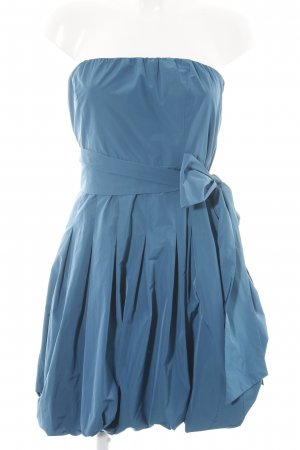 Esprit vestido de globo azul estilo fiesta