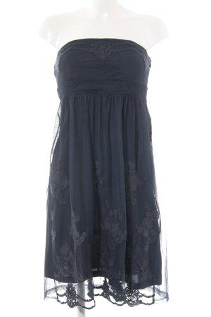 Esprit Bandeaujurk donkerblauw elegant