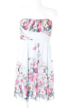 Esprit Bandeaukleid florales Muster Elegant