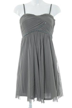 Esprit Vestido bandeau gris verdoso look casual