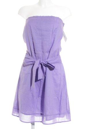 Esprit Vestido bandeau púrpura look casual