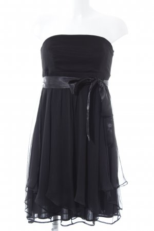 Esprit Bandeaukleid schwarz Elegant