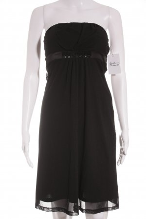 Esprit Vestido bandeau negro elegante