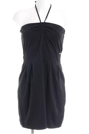 Esprit Bandeaukleid schwarz schlichter Stil