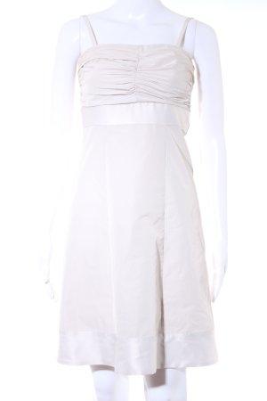 Esprit Robe bandeau blanc cassé style festif