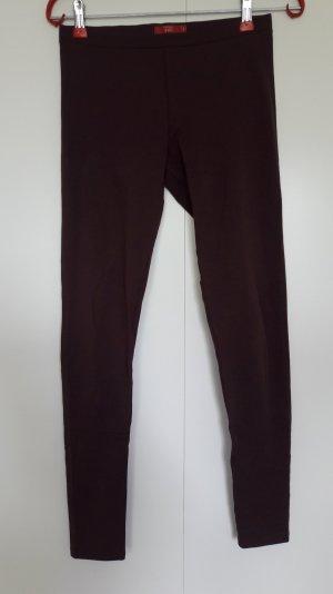Esprit Leggings violeta amarronado-rojo zarzamora Algodón