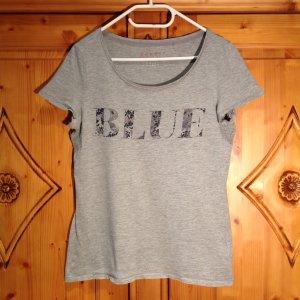 ESPRIT Basic Shirt mit Druck in L